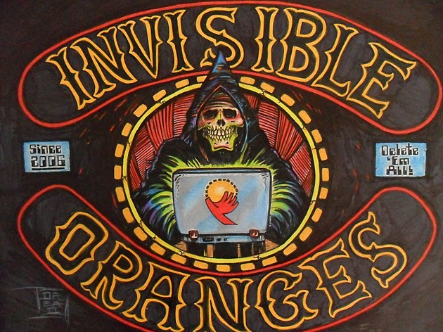 Invisible Oranges design by Dennis Dread