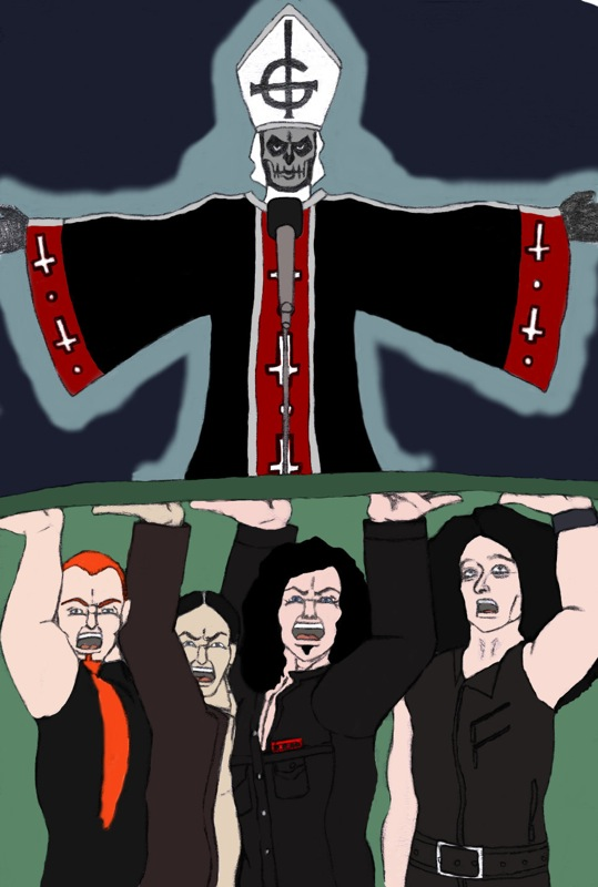 Death Metal Cartoons and Comics - funny pictures from CartoonStock
