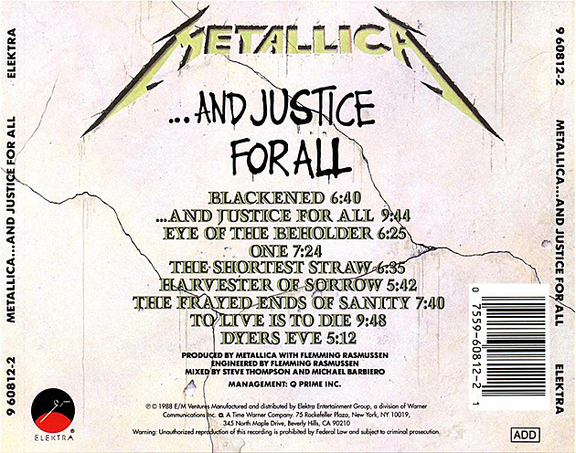 metallica the first four albums blackened. Black Bedroom Furniture Sets. Home Design Ideas