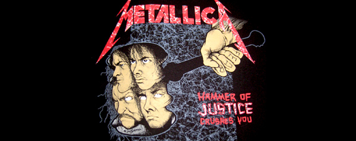 metallica the first four albums and justice for all. Black Bedroom Furniture Sets. Home Design Ideas
