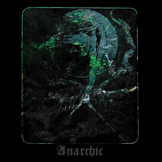 Skagos - Anarchic album art