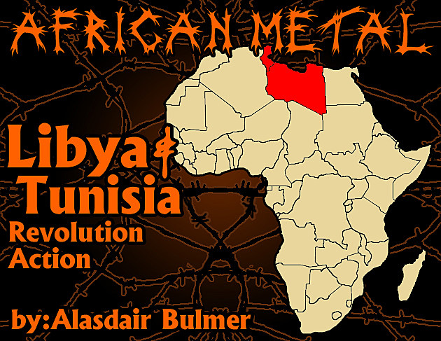 African metal Libya and Tunisia