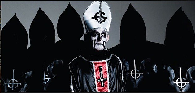Swedish band Ghost BC