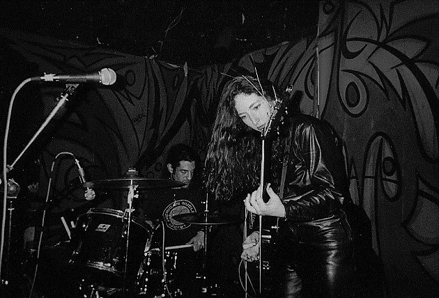 Ludicra at the Covered Wagon in 2000. (Source: Sewage)