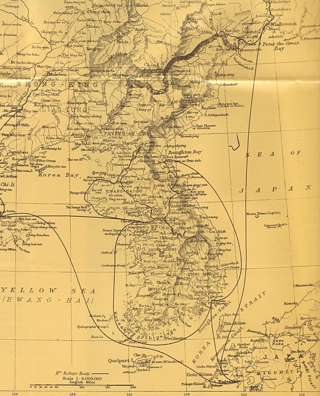 0 Map of Korea, 1890s small.0