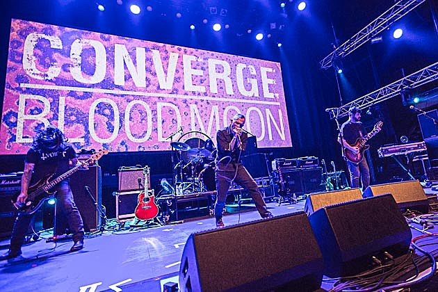Converge playing Blood Moon