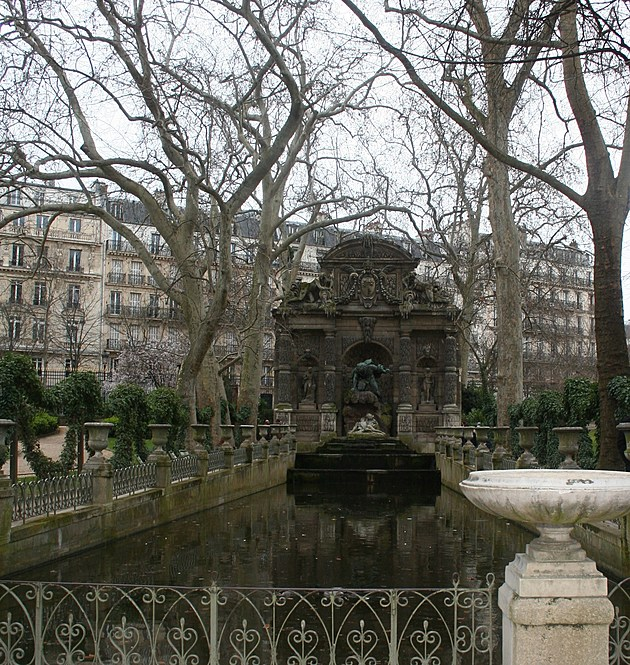 The Grand Fountain in Paris