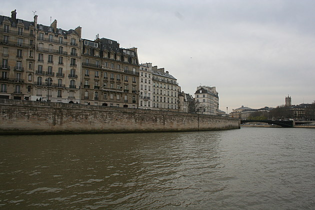 La Seine in Paris. All Photos by Katherine Shepard