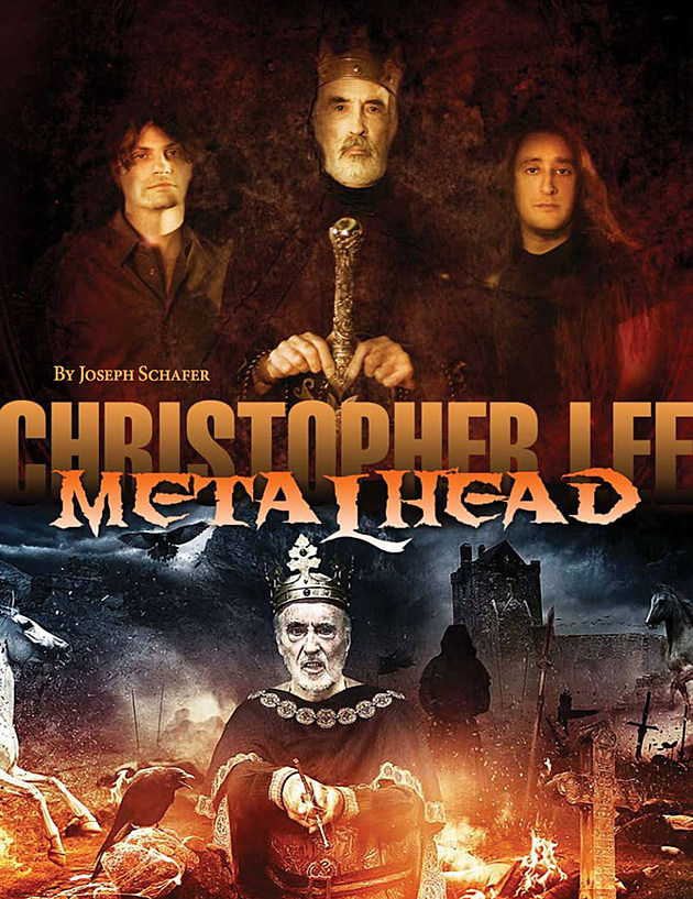 Christopher Lee Metalhead title