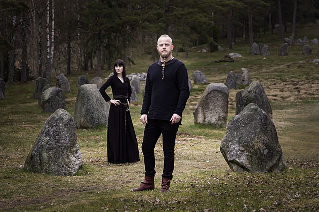 Einar Selvik and Linda-Fey Hella of Wardruna, by EspenWinther.