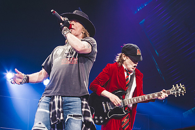 AC/DC with Axl Rose @ MSG (pics & setlist)