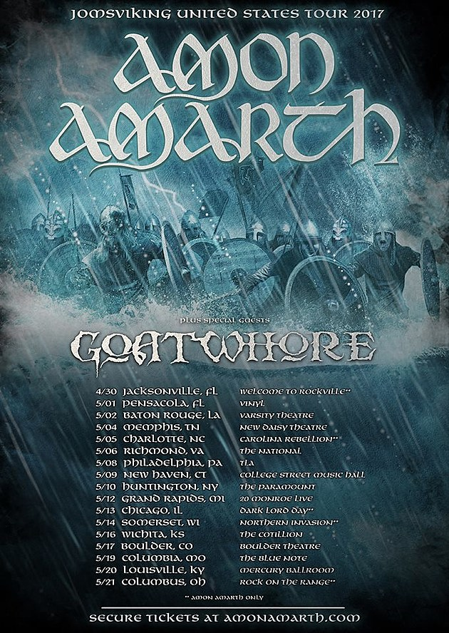 amon amarth tour