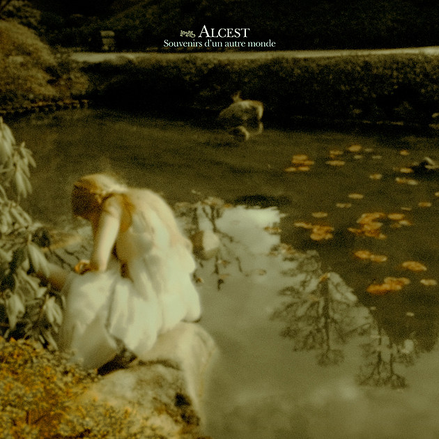 Alcest - Souvenirs - 2017 anniversary reissue front cover (1)