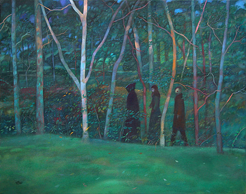 """Through The Woods #1"", courtesy of Tor Lundvall"