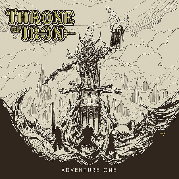 THRONE OF IRON - Adventure One Album art