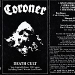 Coroner – Death Cult [free download]