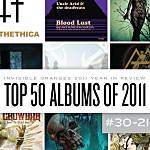 Top 50 Metal Albums of 2011, 30 to 21