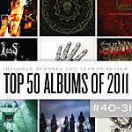 Top 50 Metal Albums of 2011, 40 to 31