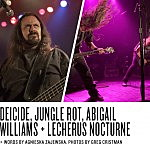Live Report: Deicide, Jungle Rot, Abigail Williams, Lecherus Nocturne