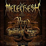 Melechesh, Vreid, Lightning Swords of Death & Reign of Lies Announce Dates