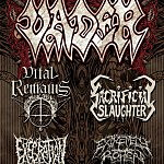 Tour: Vader, Vital Remains, Sacrificial Slaugher, Execration, more