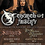 Church of Misery Announce North American Tour